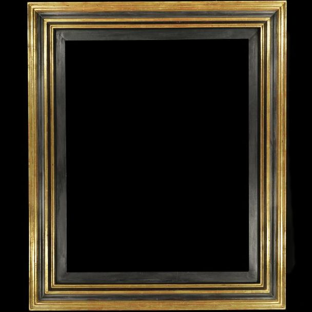Renaissance 830 fine gold and black bracket – 95 mm